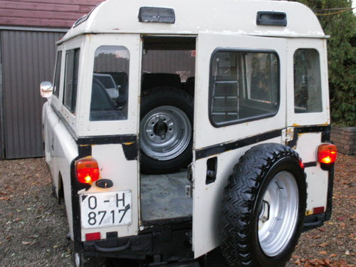 land rover LHD  santana 1975 world export diesel For Sale (picture 3 of 6)