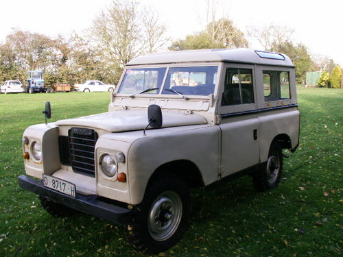 land rover LHD  santana 1975 world export diesel For Sale (picture 4 of 6)
