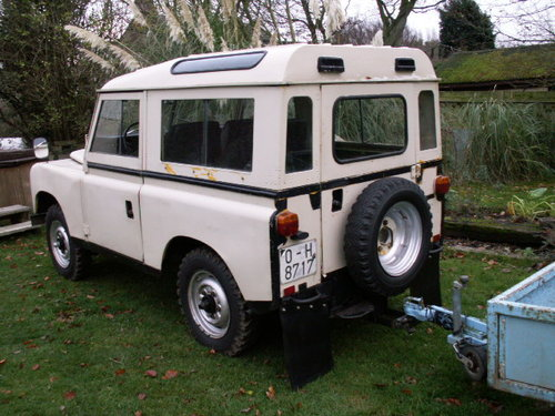 land rover LHD  santana 1975 world export diesel For Sale (picture 5 of 6)