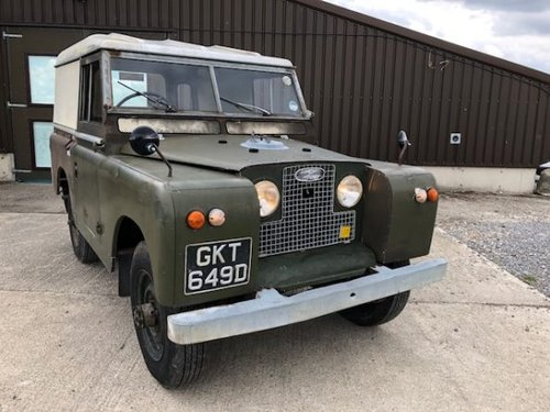 1966 Land Rover® Series 2a *Incredible History* (GKT) RESERVED SOLD (picture 1 of 6)