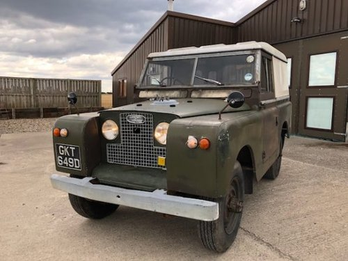 1966 Land Rover® Series 2a *Incredible History* (GKT) RESERVED SOLD (picture 2 of 6)