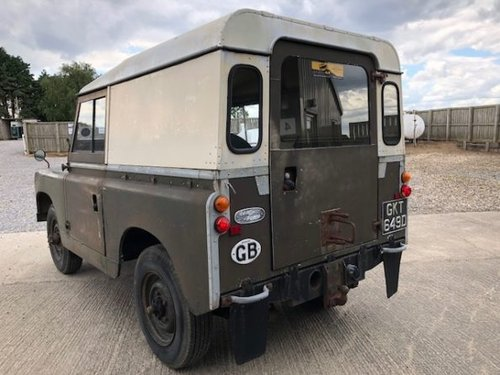 1966 Land Rover® Series 2a *Incredible History* (GKT) RESERVED SOLD (picture 4 of 6)