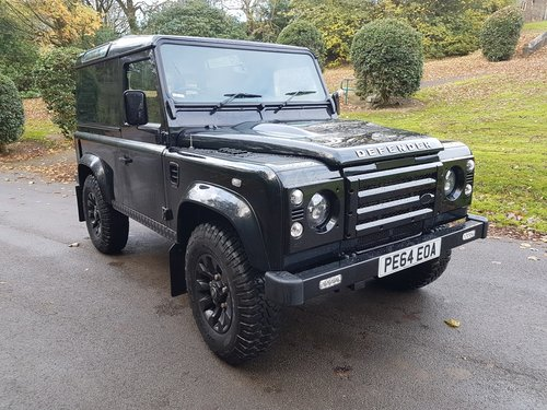 2014 LAND ROVER DEFENDER 90 TDCI COUNTY VAN For Sale (picture 1 of 6)