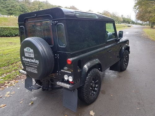 2014 LAND ROVER DEFENDER 90 TDCI COUNTY VAN For Sale (picture 3 of 6)