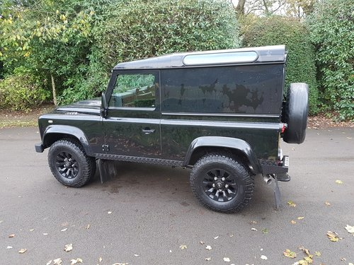 2014 LAND ROVER DEFENDER 90 TDCI COUNTY VAN For Sale (picture 4 of 6)