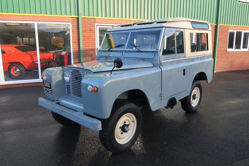 1968 Landrover Series 2a with Safari Roof - Immaculate   For Sale (picture 1 of 6)
