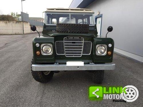 Land Rover SERIE 3 88 A BENZINA IMMATRICOLATA DEL 1973 56 K For Sale (picture 2 of 6)