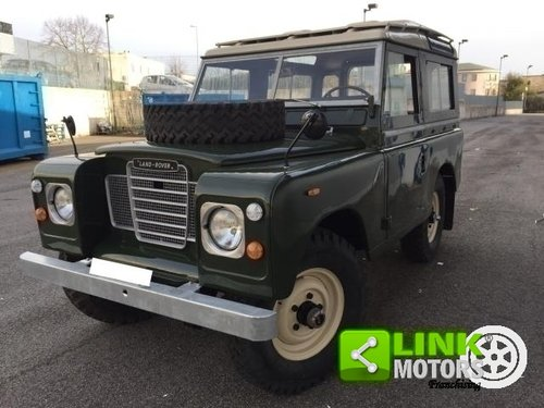 Land Rover SERIE 3 88 A BENZINA IMMATRICOLATA DEL 1973 56 K For Sale (picture 6 of 6)