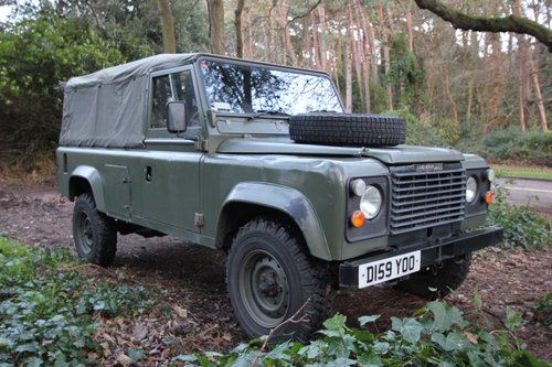 1986 Land Rover Defender 110 Canvas - USA Exportable - 2.5 Diesel For Sale (picture 2 of 6)