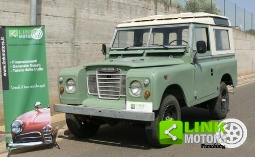 1980 Land Rover 88 Series 3 For Sale (picture 1 of 6)