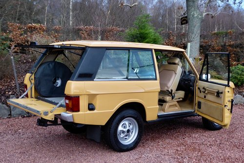 1980 Range Rover Classic 2 door in fantastic condition SOLD (picture 2 of 6)