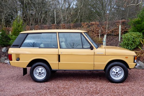 1980 Range Rover Classic 2 door in fantastic condition SOLD (picture 3 of 6)