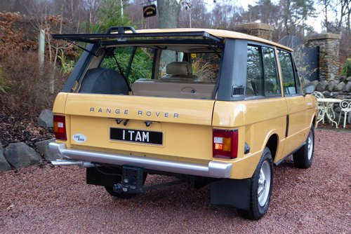 1980 Range Rover Classic 2 door in fantastic condition SOLD (picture 4 of 6)