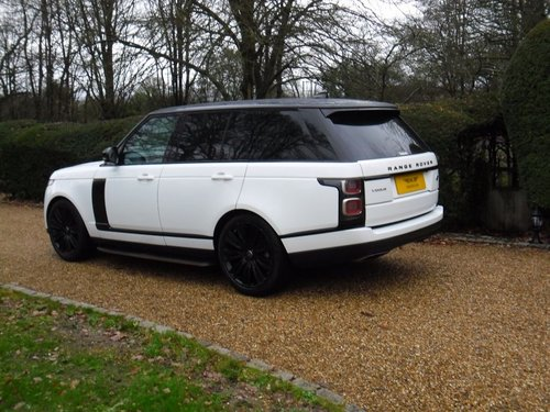 2018 RANGE ROVER TDV6 VOGUE For Sale (picture 2 of 6)