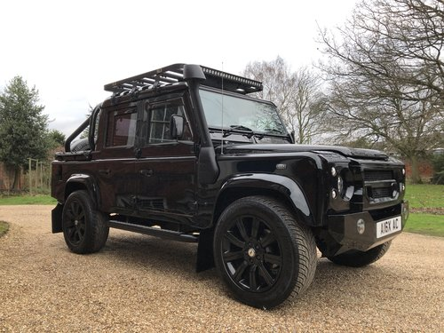 2005 Land Rover Defender 110 TD5 XS Double cab pickup  For Sale (picture 3 of 6)