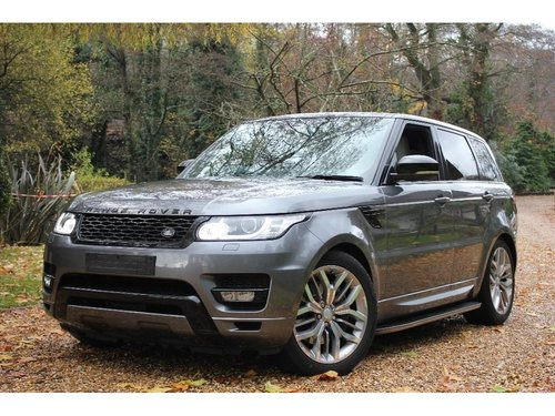 2014 Land Rover Range Rover Sport 3.0 SD V6 HSE 4X4 (s/s) 5dr For Sale (picture 1 of 1)