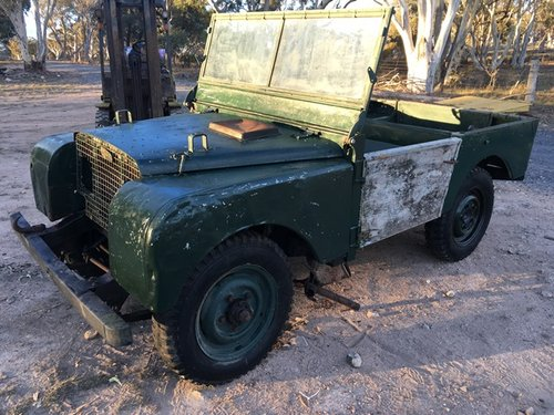 Full Grill 1950 Land Rover Series 1 80 inch For Sale (picture 1 of 6)