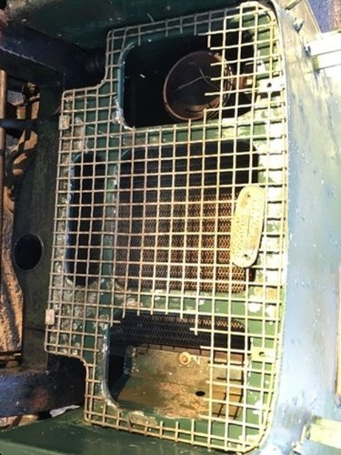 Full Grill 1950 Land Rover Series 1 80 inch For Sale (picture 2 of 6)