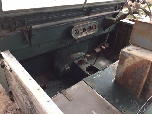 Full Grill 1950 Land Rover Series 1 80 inch For Sale (picture 3 of 6)
