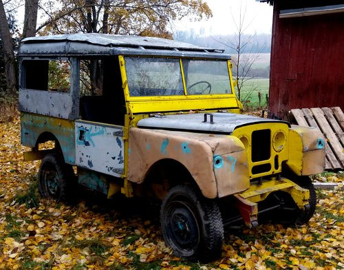 Land Rover S1 1953 STW with safari roof For Sale (picture 1 of 3)
