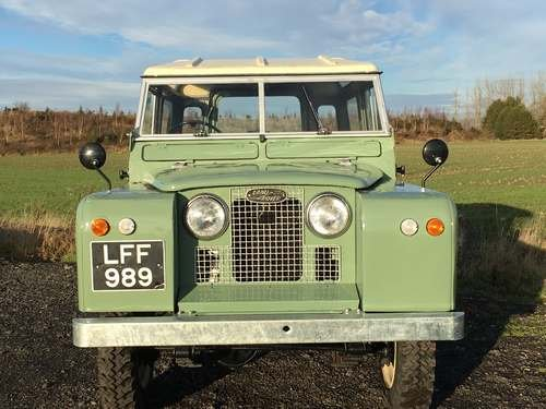 1961 Land Rover 88 SOLD by Auction (picture 3 of 6)