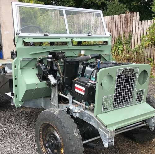 1961 Land Rover 88 SOLD by Auction (picture 4 of 6)