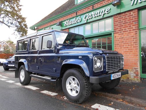 2012 Land Rover Defender 110 TD XS Station Wagon SOLD (picture 2 of 5)