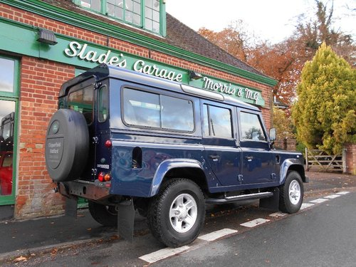 2012 Land Rover Defender 110 TD XS Station Wagon SOLD (picture 3 of 5)
