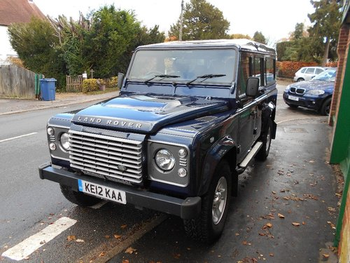 2012 Land Rover Defender 110 TD XS Station Wagon SOLD (picture 5 of 5)