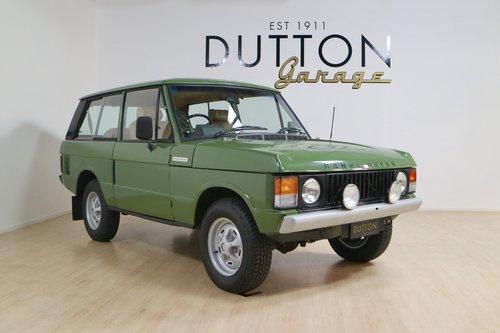 1979 Range Rover 3 Door For Sale (picture 1 of 6)