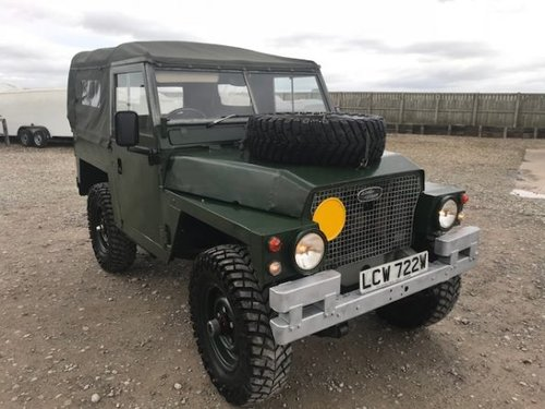 1981 Land Rover ® Lightweight *Galvanised Chassis 200tdi* (LCW) SOLD (picture 1 of 6)