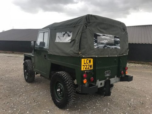 1981 Land Rover ® Lightweight *Galvanised Chassis 200tdi* (LCW) SOLD (picture 3 of 6)
