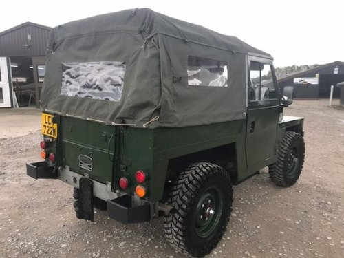 1981 Land Rover ® Lightweight *Galvanised Chassis 200tdi* (LCW) SOLD (picture 4 of 6)