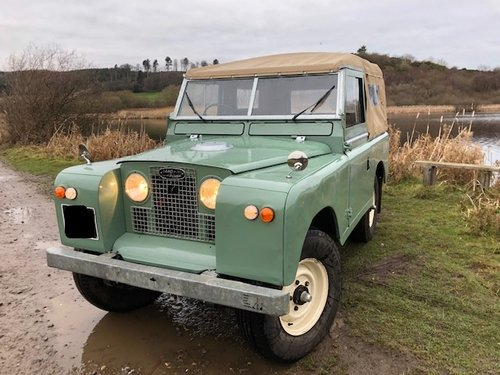 1967 Land Rover Series 2a, *REDUCED*, Galvanised Chassis, 200Tdi SOLD (picture 1 of 6)