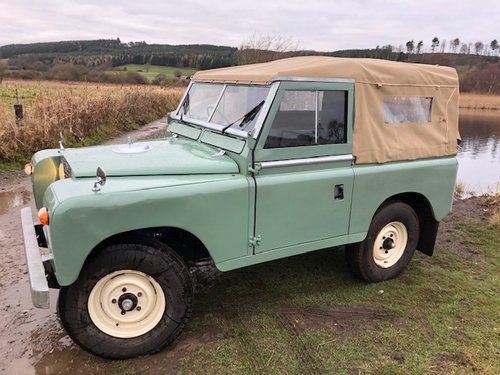1967 Land Rover Series 2a, *REDUCED*, Galvanised Chassis, 200Tdi SOLD (picture 2 of 6)