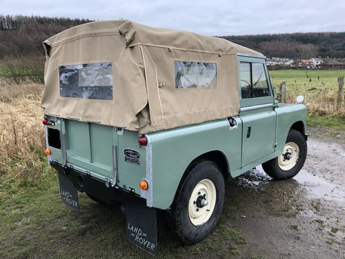 1967 Land Rover Series 2a, *REDUCED*, Galvanised Chassis, 200Tdi SOLD (picture 3 of 6)