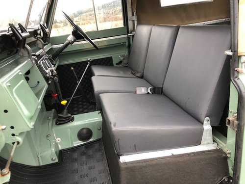 1967 Land Rover Series 2a, *REDUCED*, Galvanised Chassis, 200Tdi SOLD (picture 4 of 6)