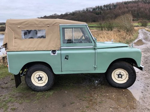 1967 Land Rover Series 2a, *REDUCED*, Galvanised Chassis, 200Tdi SOLD (picture 6 of 6)