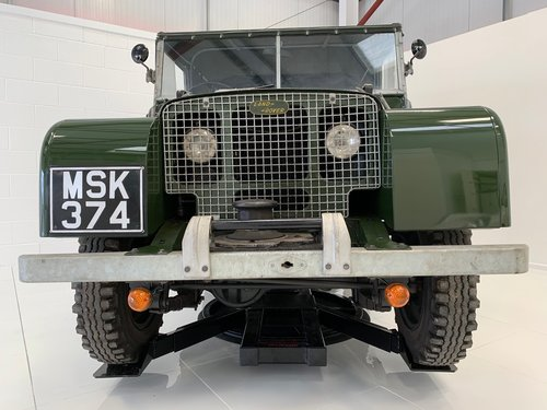 """Series 1 1949 Landrover 'Lights behind the Grill' 80"""" For Sale (picture 1 of 6)"""