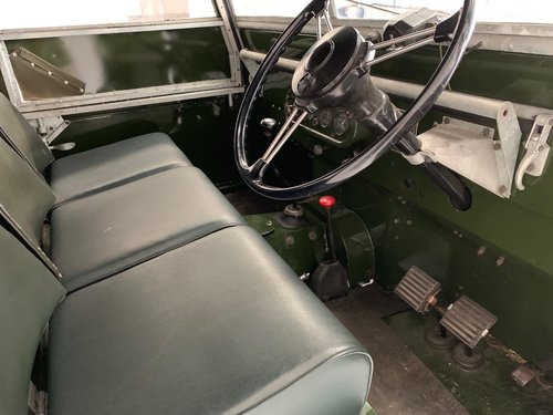"""Series 1 1949 Landrover 'Lights behind the Grill' 80"""" For Sale (picture 3 of 6)"""