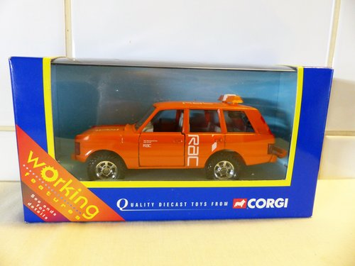 Range Rover R A C Rescue 1 35 Scale Model For Sale Car And Classic
