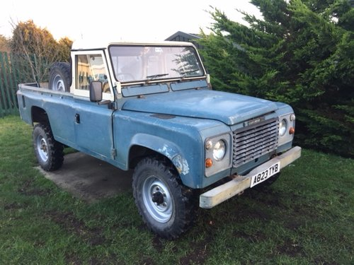 1984 LAND ROVER 110 EARLY V8 DEFENDER  SOLD (picture 3 of 5)