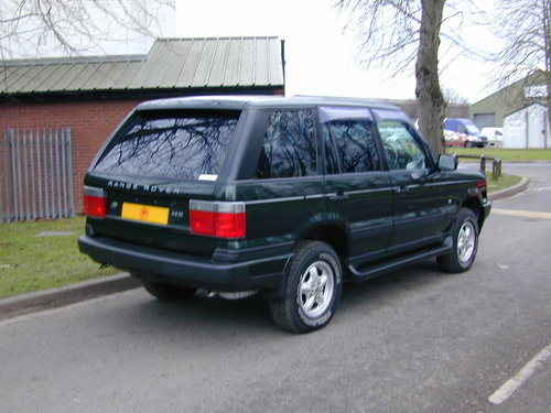 1999 RANGE ROVER P38 4.0 - RHD -VERY HIGH SPEC - JUST 49k! MILES! For Sale (picture 3 of 6)