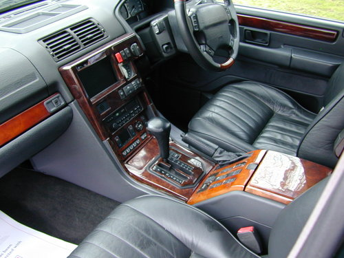 1999 RANGE ROVER P38 4.0 - RHD -VERY HIGH SPEC - JUST 49k! MILES! For Sale (picture 5 of 6)