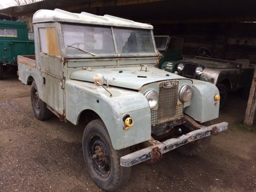 1957 Series 1 86 inch Land Rover for Restoration - Great Patina For Sale (picture 1 of 6)