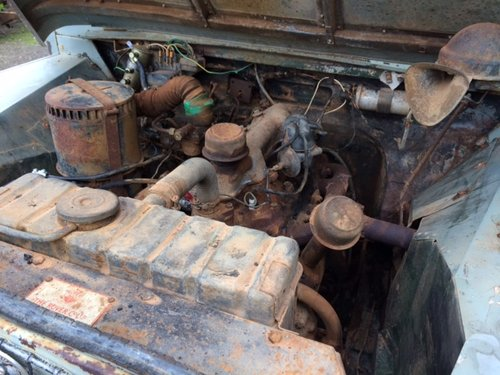 1957 Series 1 86 inch Land Rover for Restoration - Great Patina For Sale (picture 5 of 6)