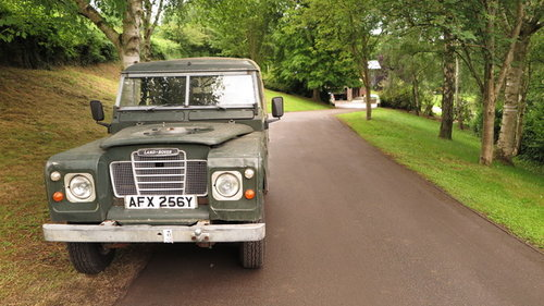 1982 Land Rover Series III, SWB Truck Cab Model For Sale (picture 1 of 4)