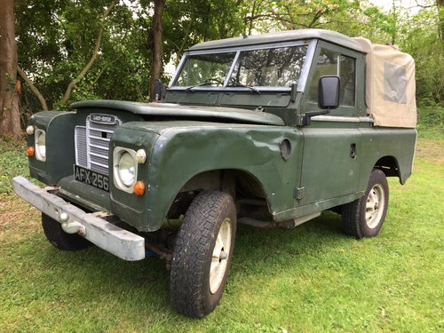 1982 Land Rover Series III, SWB Truck Cab Model For Sale (picture 2 of 4)