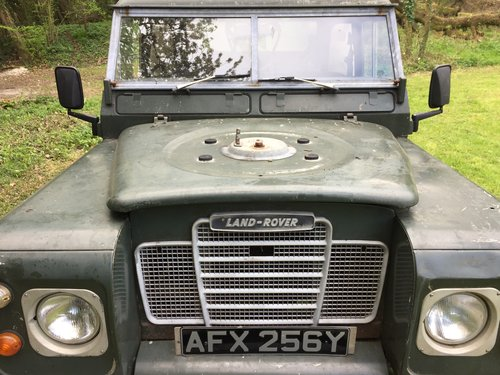 1982 Land Rover Series III, SWB Truck Cab Model For Sale (picture 4 of 4)