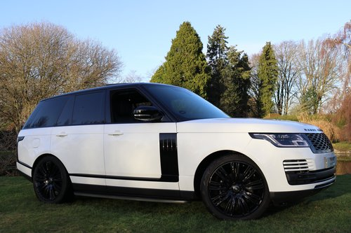 2018 RANGE ROVER TDV6 VOGUE For Sale (picture 1 of 6)